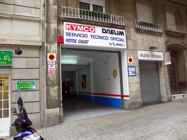 Recambios kymco en madrid